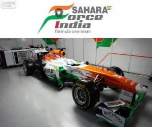 Układanka Force India VJM06 - 2013 -