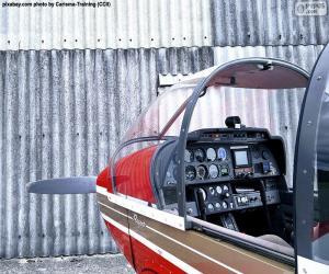 Układanka Formanty z lekkiego samolotu