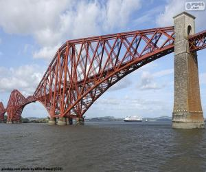 Układanka Forth Bridge, Szkocji