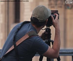Układanka Fotograf