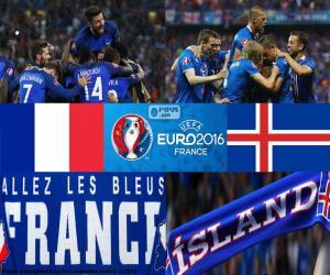 Układanka FR-IS, ćwierćfinał Euro 2016