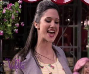 Układanka Francesca śpiewa Violetta 2