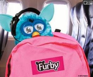 Układanka Furby jedzie na wakacje