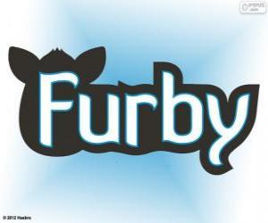 Układanka Furby logo