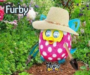 Układanka Furby ogrodnik