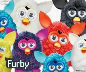 Układanka Furbys kilka