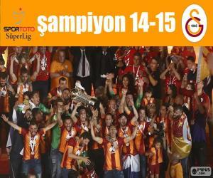 Układanka Galatasaray, mistrz 14-15