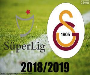 Układanka Galatasaray, mistrz 2018 2019 r.