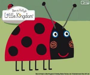 Układanka Gaston biedronka, najlepszy przyjaciel owadów od Bena i Holly
