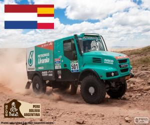 Układanka Gerard de Rooy, Dakar 2016
