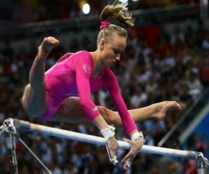 Układanka Gimnastyka artystyczna - High bar