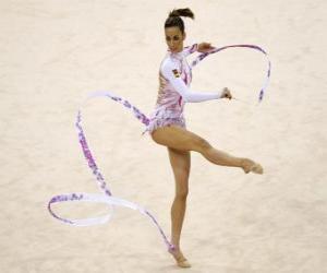 Układanka Gimnastyka artystyczna - Indywidualne taśmy wykonywania