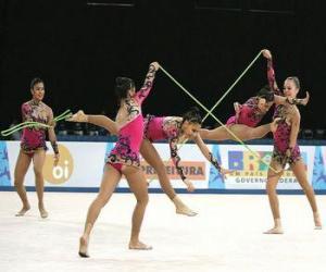 Układanka Gimnastyka artystyczna