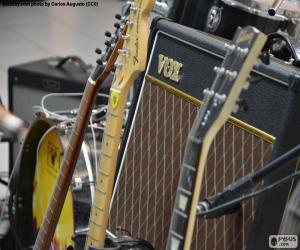 Układanka Gitary i wzmacniacz