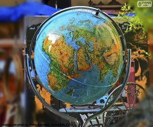 Układanka Globus