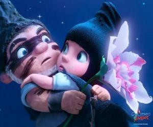 Układanka Gnomeo i Julia, w scenie z filmu