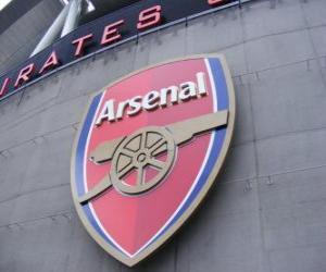 Układanka Godło Arsenal FC