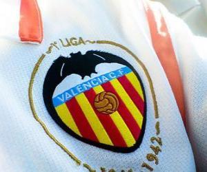Układanka Godło CF Valencia