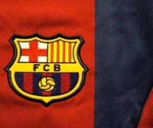 Układanka Godło FC Barcelona