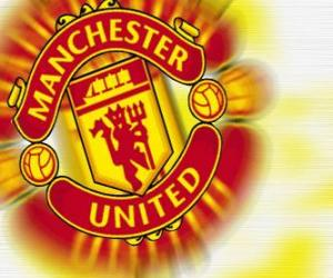 Układanka Godło Manchester United FC