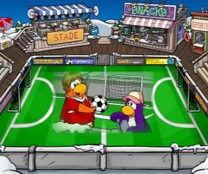 Układanka Gra Football Club Penguin