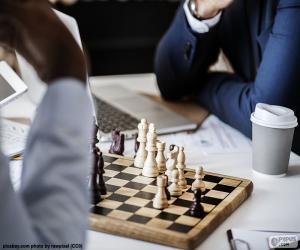 Układanka Gra w szachy