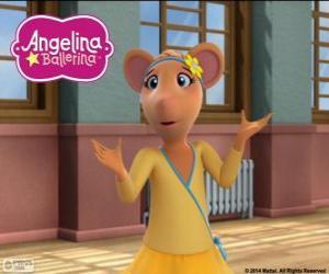 Układanka Gracie, postać z Angelina Ballerina