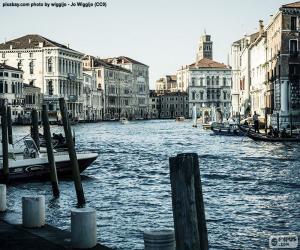 Układanka Grand Canal Wenecja, Włochy