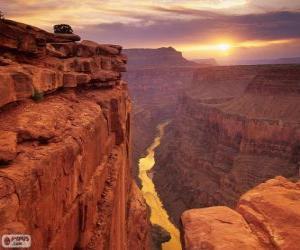 Układanka Grand Canyon, Stany Zjednoczone Ameryki