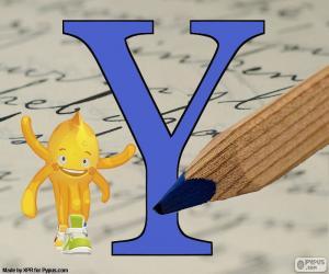 Układanka Grecka litera Ipsylon