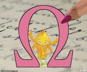 Układanka Grecka litera Omega