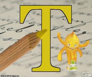 Układanka Grecka litera Tau