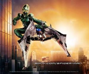 Układanka Green Goblin to supervillain uważana za jedną z wrogowie Spider-Man