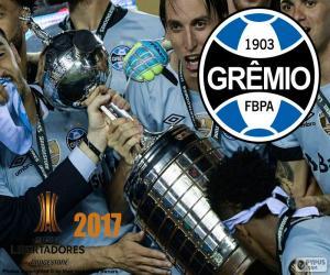 Układanka Gremio, mistrz Libertadores 2017