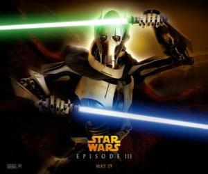 Układanka Grievous to jest przerażające i potężne cyborgiem, który poświęcił swoje życie na zniszczenie Republiki i eksterminacji Jedi Knights.