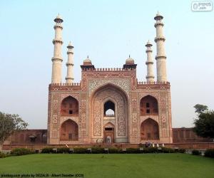 Układanka Grobowiec Akbar's, Indie