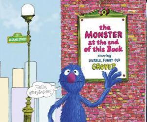 Układanka Grover pozdrowienia