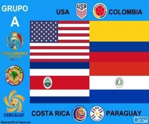 Układanka Grupa A, Copa América Centenario