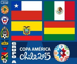 Układanka Grupa A, Copa America 2015