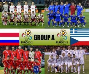 Układanka Grupa A - Euro 2012 -
