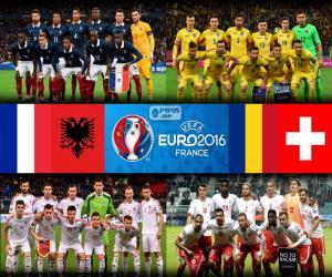 Układanka Grupa A, Euro 2016