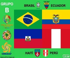 Układanka Grupa B, Copa América Centenario