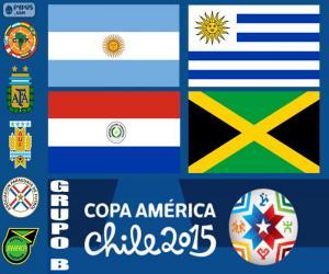 Układanka Grupa B, Copa America 2015