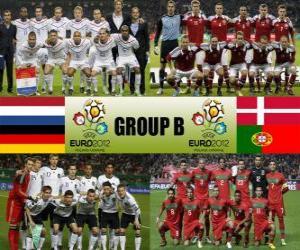 Układanka Grupa B - Euro 2012-