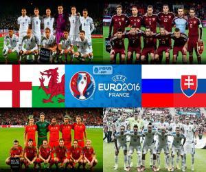Układanka Grupa B, Euro 2016