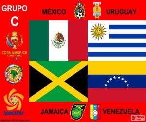 Układanka Grupa C, Copa América Centenario