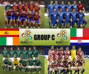 Układanka Grupa C - Euro 2012-