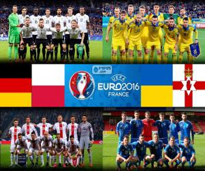 Układanka Grupa C, Euro 2016