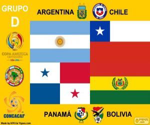 Układanka Grupa D, Copa América Centenario