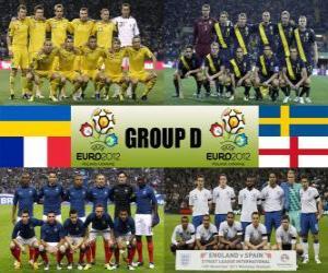 Układanka Grupa D - Euro 2012-